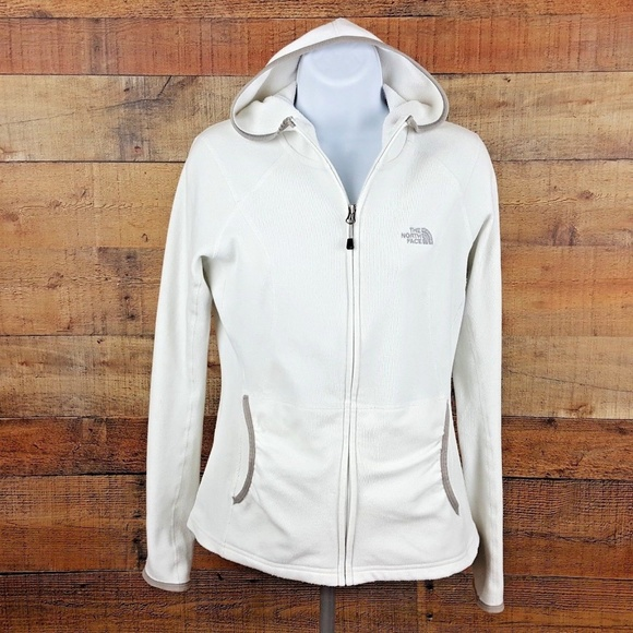 3773fb82a The North Face Full Zip Hoodie Women's Size S Whit